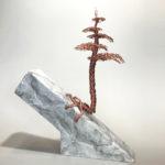 Tree on Marble Block